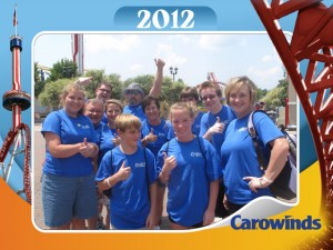 Carrowinds 2012